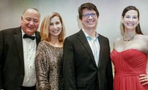 Stan Laura Pete Ashley 2016 Kids Chance Gala